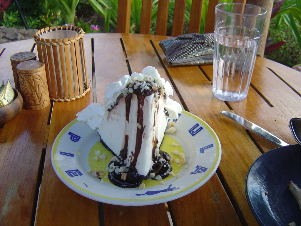 Hula Pie from Duke's, walking distance from condo